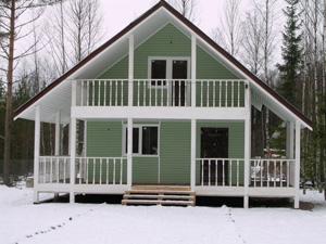 Причины актуальности загородных домов, возведенных по каркасно-щитовой технологии