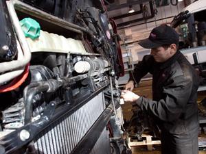 Вовремя сделанный грузовой ремонт способствует длительной эксплуатации