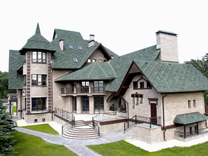Какая загородная недвижимость у элиты общества?