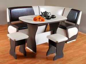 Отличное мебельное решение для небольшой кухни