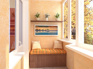Обшивка балконов в загородных домах
