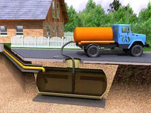 Организации автономной канализации загородного дома с помощью накопительного резервуара