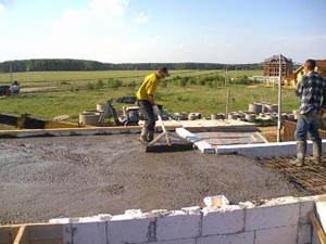 Качественный бетон для обустройства земельного участка