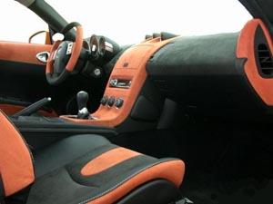 Перетяжка салона автомобиля алькантарой