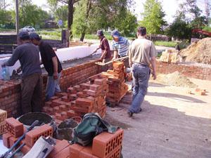 Строительство домов из кирпича в Подмосковье