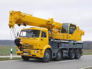 Аренда автокрана 16 тонн для земельных участков