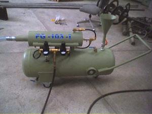 Высоконапорный пеногенератор на земельных участках