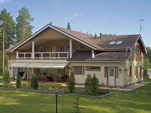 Деревянные дома в Финляндии