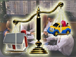 Раздел имущества в суде