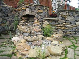 Природный камень в ландшафтном дизайне земельного участка