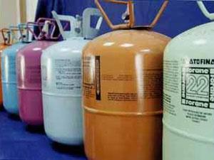 Хладон 134 для холодильного оборудования загородного предприятия общепита