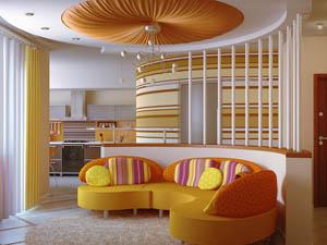 Дизайн интерьера в загородной недвижимости