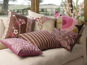 Домашний текстиль в загородном доме