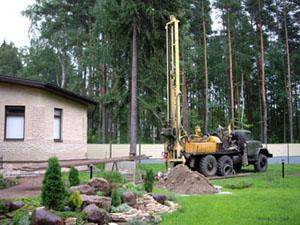 Бурение скважин на воду на земельных участках Московской области