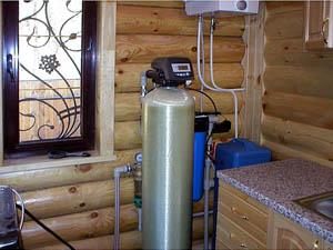 Обезжелезиватель для очистки воды на земельных участках