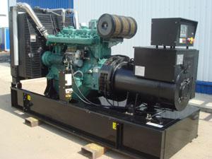 Дизель-генератор ускорит строительство загородного дома