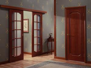 Межкомнатные двери для дачного домика