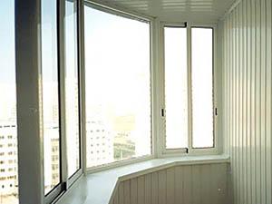 Холодное остекление балконов квартир и коттеджей