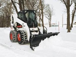 Вывоз снега с загородных земельных участков