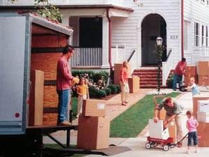 Перевозка мебели в загородный дом
