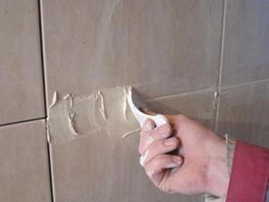 Материалы для затирки швов после укладки керамической плитки