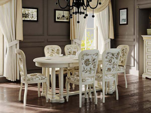 Столы и стулья для загородного дома и городской квартиры