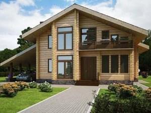Покупаем недорого деревянные дома из бруса
