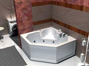 Несколько слов об угловой ванне