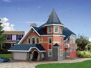 Красивая отделка загородного дома