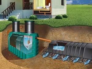 Отличная канализация для частного дома