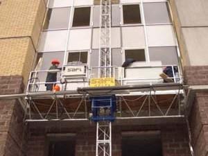 Подмости каменщика — помощь в строительстве