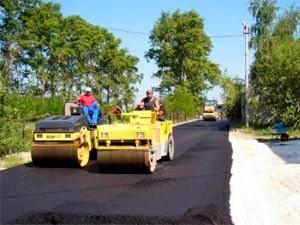 Асфальтирование городских территорий и загородных земельных участков