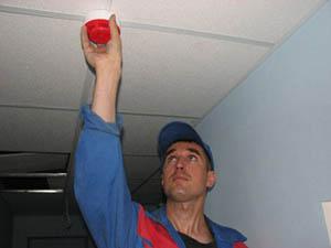Установка пожарной сигнализации на даче