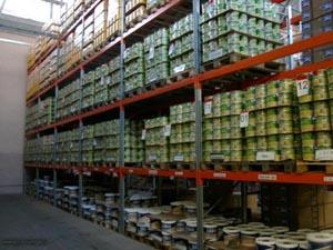 Использование поддонов на складах