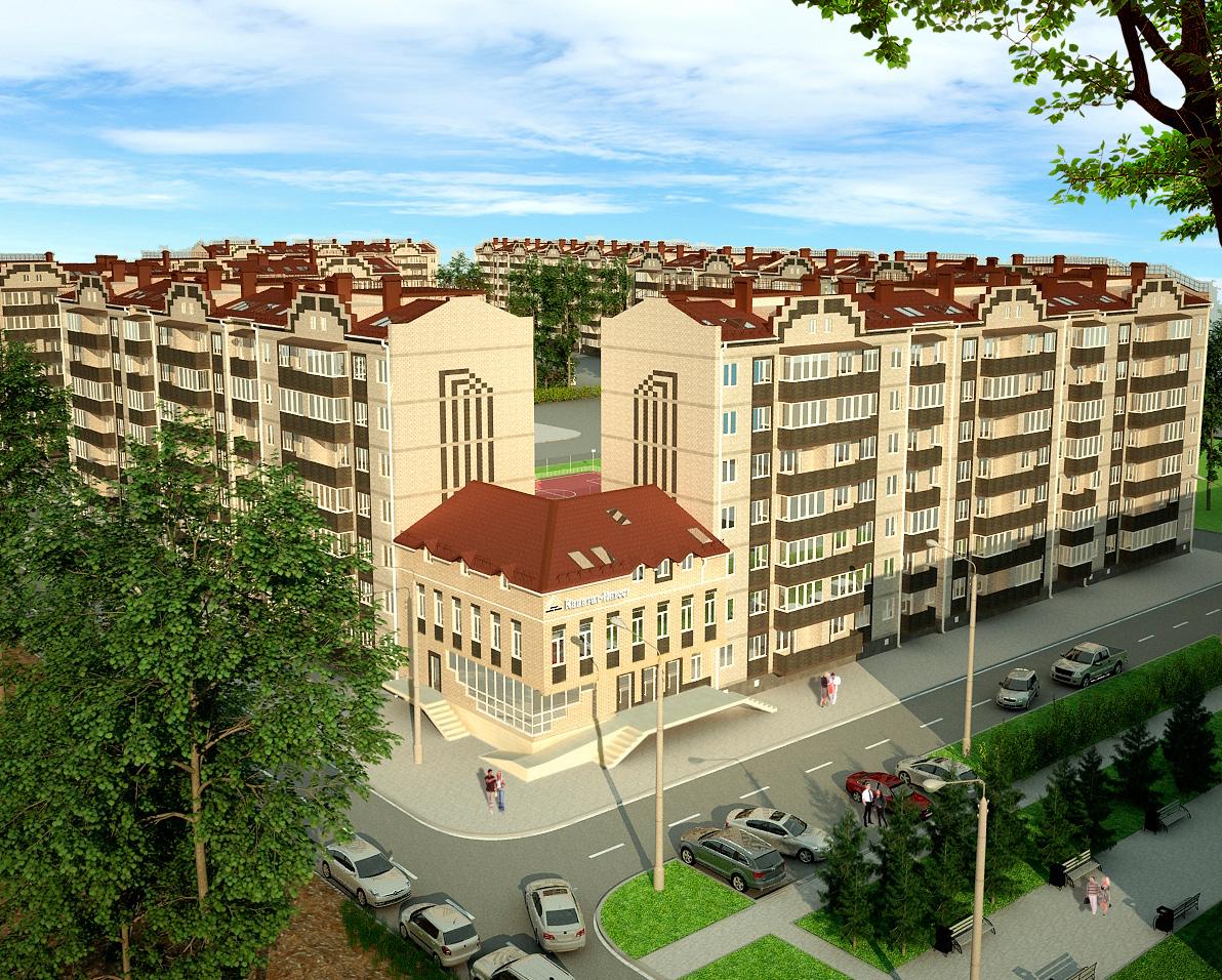 Отличные квартиры в Краснодаре от застройщика приобретайте у «Капитал-Инвест»