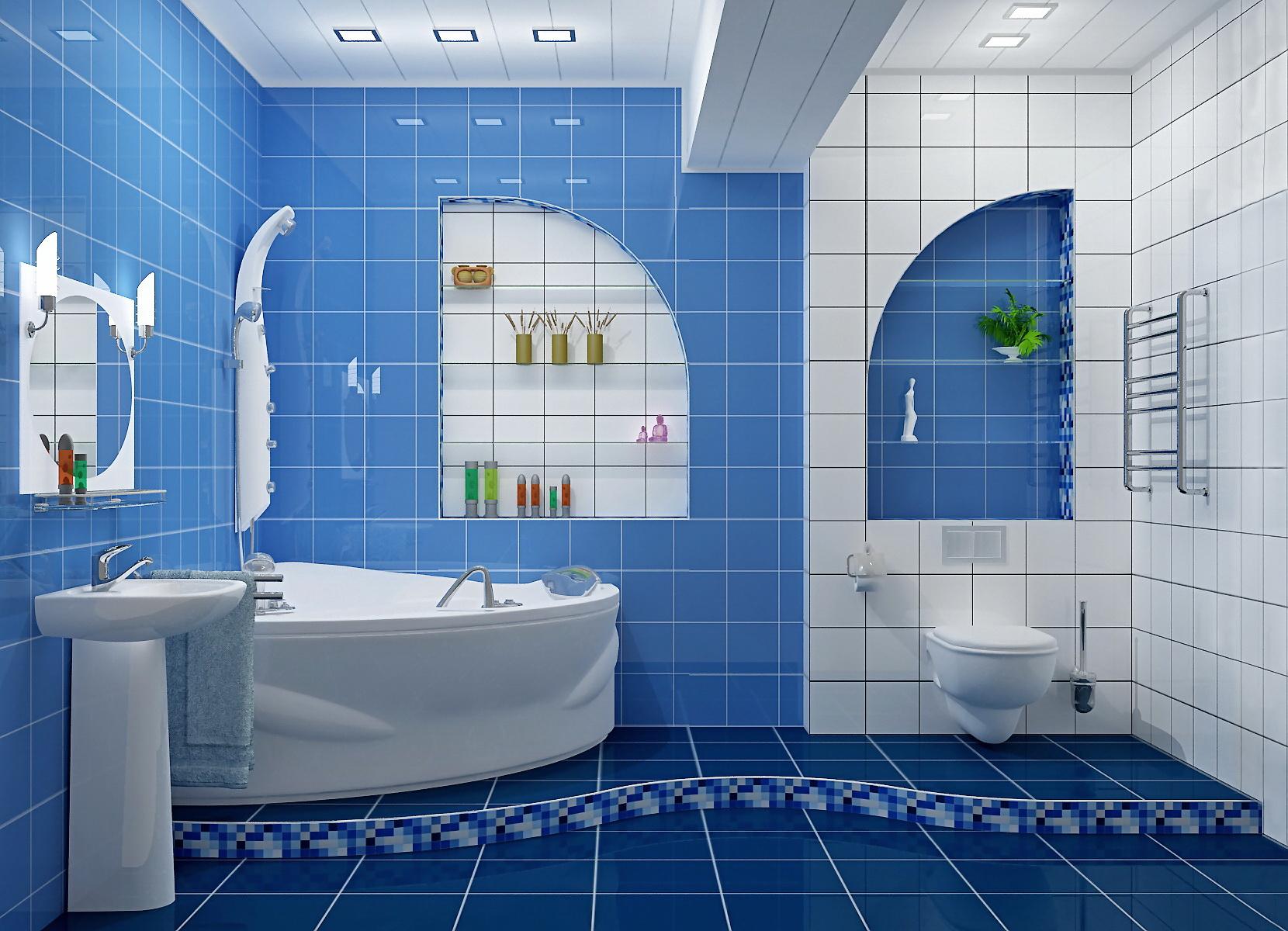 Интерьер ванной комнаты своими руками фото