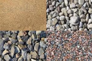 Песок и щебень – основные стройматериалы
