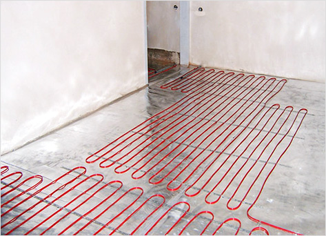 Теплый пол под плитку и некоторые особенности его монтажа