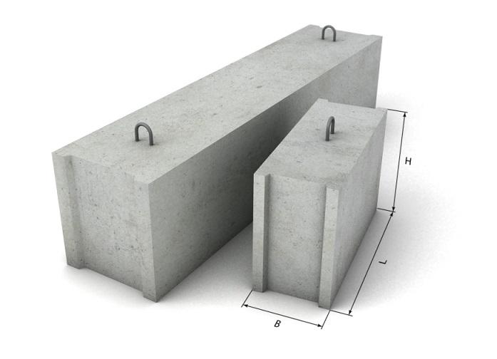 Используем бетонные блоки для перегородок постройки