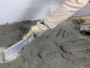 Пескобетон в загородном строительстве