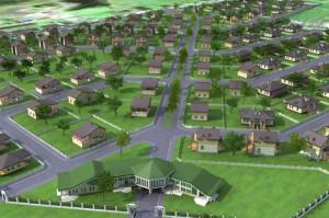 Земельные участки в коттеджных посёлках