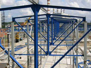 Монтаж металлоконструкций на загородных участках