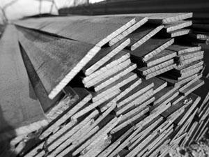 Полоса металлическая для обустройства земельного участка