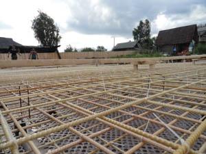 Арматура для строительства загородного дома