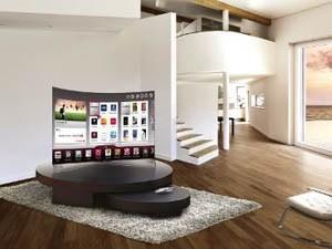 Телевизор с OLED дисплеем в вашем загородном доме