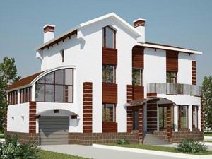 Проекты кирпичных домов в Уфе