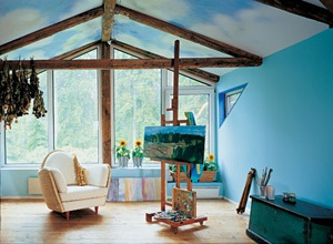 Краска Tikkurila для оформления интерьеров загородных домов