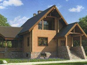 Двухэтажные дома из бруса – идеальный вариант для больших семей