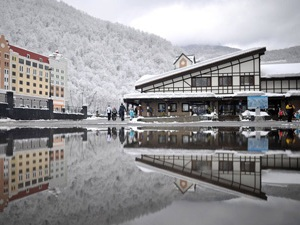 Ресторан на горнолыжном курорте «Роза Хутор»