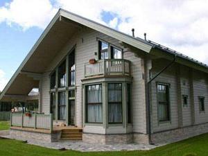 Дома из профилированного бруса: технология строительства